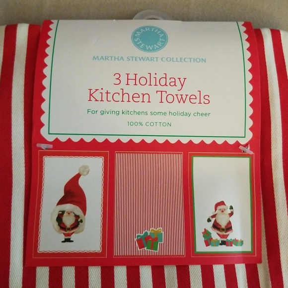 Christmas Kitchen Towels NWT